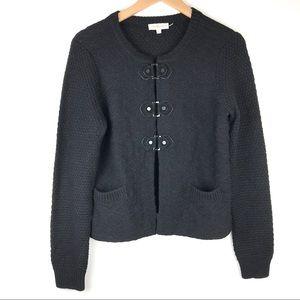 Tory Burch wool blend crew neck knit sweater